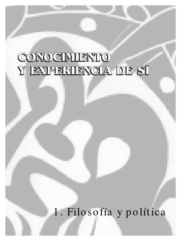 CONOCIMIENTO Y EXPERIENCIA DE SI . REVISTA nomadas25.pdf