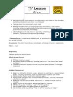 tr lesson plan