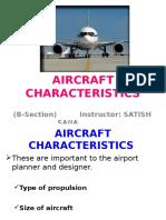 Aircraft Characteristics