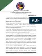 Comunicado - Activistas Presos Em Angola