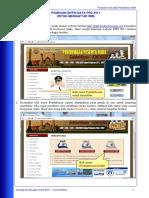 Panduan Entri Online Reguler SMK