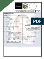 EXAMEN 02 UNIDAD ARIMÉTICA 1°