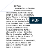 Jantar Mantar Facts