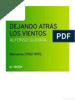 Guerra, Alfonso - Dejando atrás los vientos SOLO LAS 50 PRIMERAS PÁGINAS.pdf