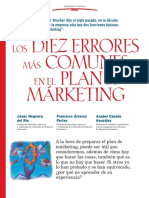 Los Diez Errores Mas Comunes en El Plan de Marketing