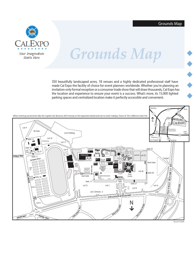 Cal Expo Grounds Map OLD