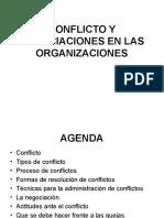 Conflictos y Negociaciones Organizacionales