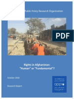 RIghts in Afghanistan