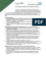 Antibiotic Management of Recurrent UTIs in Adults