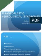 Prof BSP_ Neurologic Paraneoplastic Syndromes