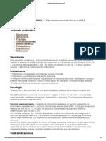 Medicamento Acenocumarol 2014