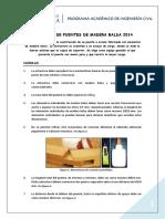 Normas Definitivas Concurso de Puentes 2014