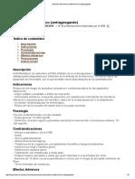 Medicamento Acido Acetilsalicílico (Antiagregante) 2015