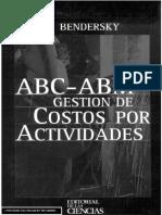 ABC ABM, Gestión de Costos por Actividades - Bendersky.pdf