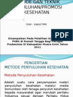 Metode Dan Teknik Penyuluhan Phbs