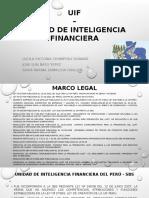 Uif – Unidad de Inteligencia Financiera