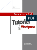 Wordpress de A a Z