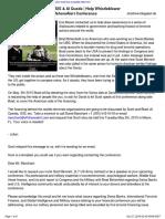 CIA & Swiss Banks Fund ISIS & Al Queda - Help Whistleblower Scott Bennett Speak at OffshoreAlert Conference-6