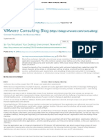 VDI Archives - VMware Consulting Blog - VMware Blogs