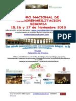 1º FORO NACIONAL  DE NEUROREHABILITACIÓN Información