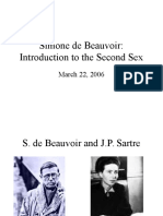 Simone Beauvoir English