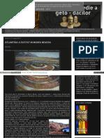 Enciclopediagetodacilor Blogspot Ro 2011-08-01 Archive HTML