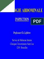 Sémiologie Abdominale