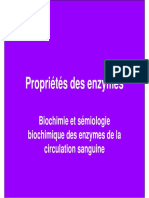 Proprietes Enzymes