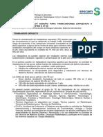 Normas de Trabajo Seguro - Trabajadores Expuestos a Radiac Ionizantes