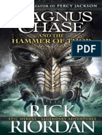 Riordan Rick Magnus Chase and the Gods of Asgard 2 Magnus Chase and the Hammer of Thor 2016 Penguin Books Ltd 9780141342573