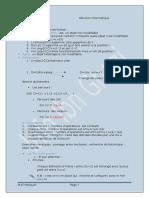 Révision Informatique Seance 1