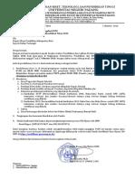 Surat Pengantar Pemanggilan Mengikuti Plpg Akt 1 Thn 2016