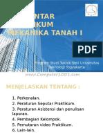 Pengantar Praktikum Mekanika Tanah I-1