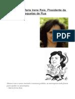 Entrevista a Maria Irene Reis - Saquetas de Rua