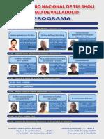 II Encuentro Nacional de Tui Shou Ciudad de Valladolid - Programa