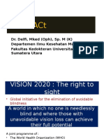 Cataract, Conjunctivitis, DR