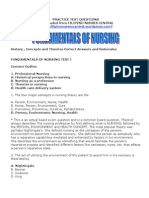 Fundamentals of Nursing 2