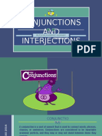 CONJUNCTIONS & INTERJECTIONS (201401058)