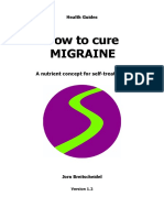 Health - How to Cure Migraine - Vitamin Nutrition