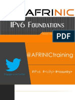 IPv6 Foundations v2016