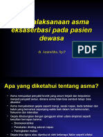 Penatalaksanaan Eksaserbasi Asma (Dewasa)IDI Dr. AMIR