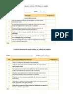 Ficha de Evaluacion de Observacion Campo