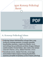 Psikologi Barat Psikologi Islam