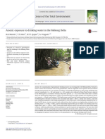 Arsenic Exposure to Drinking Water in the Mekong Delta