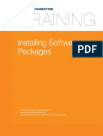 19. Local Security Installing Software Packages