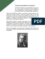 Breve Biografia de Federico Villarreal