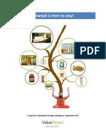 Patanjali Consumer Insights ValueNotes Sep16 8Sep16