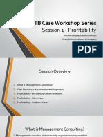 IIT Bombay Case Workshop - Session 1