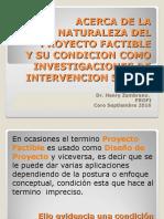 Acerca de La Naturaleza Del Proyecto Factible