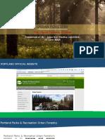 Urban Forestry in Portland